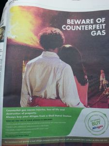 Counterfeit Gas Cylinders
